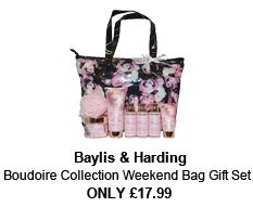 Baylis and Harding Collection: Weekend bag, shower gel, bath milk, body wash