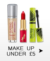 Beauty Products under £5.00 - lipstick, eyeshadows, makeup